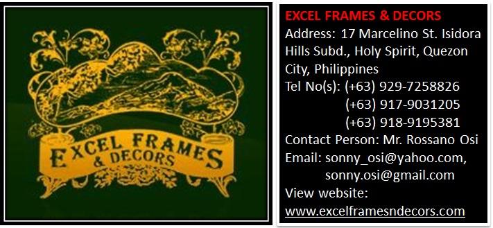 Excel Frames & Decors